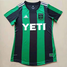 2021 Austin Home Green Black Women Soccer Jersey