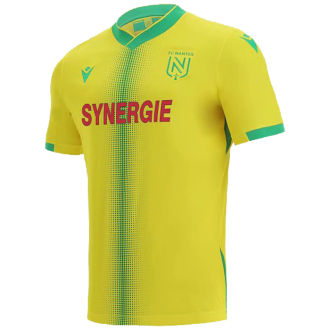 2021/22 Nantes Home Yellow Fans Soccer Jersey