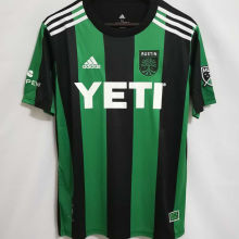 2021 Austin Home Green Black  Fans Soccer Jersey