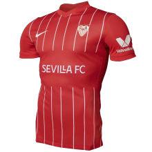 2021/22 Sevilla Away Red Fans Soccer Jersey