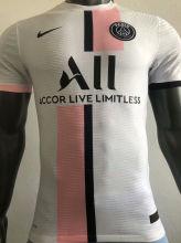 2021/22 PSG Away White Player Version Soccer Jersey