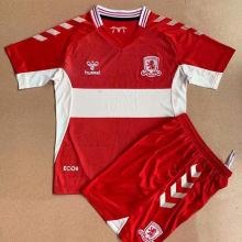 2021/22 Middlesbrough Home Kids Soccer Jersey