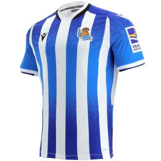 2021/22 Real Sociedad Home Fans Soccer Jersey