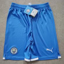 2021/22 Man City Blue Shorts Pants