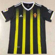 2021/22 Zaragoza Yellow Black Fans Soccer Jersey
