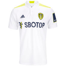 2021/22 Leeds United  Home White Fans Soccer Jersey