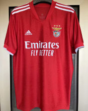 2021/22 Benfica 1:1 Quality Home Red Fans Soccer Jersey