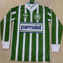 1992/93 Palmeiras Home Retro Long Sleeve Soccer Jersey