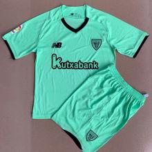 2021/22 Bilbao Athletic Away Green Kids Soccer Jersey