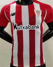 2021/22 Bilbao AT Home Red White Player Version Soccer Jersey
