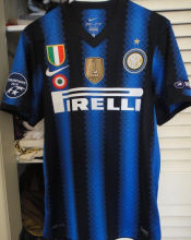 2010-2011 In Milan Home Retro Soccer Jersey (Have Patch)