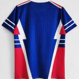 1990 Yugoslavia Home Blue Red Retro Soccer Jersey