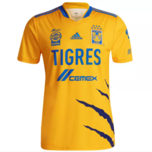 2021/22 U.A.N.L Tiger Home Yellow Fans Soccer Jersey