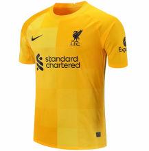 2021/22 LFC Yellow GK Soccer Jersey