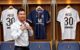 MESSI #30 PSG Home 1:1 Fans Jersey 2021/22 (UCL Font欧冠字体)