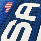 BOOKER # 15 Tokyo Olympic 2020 Dream Team Blue Jerseys Hot Pressed
