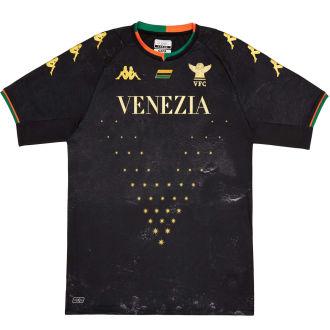2021/22 Venezia FC Home Black Fans Soccer Jersey