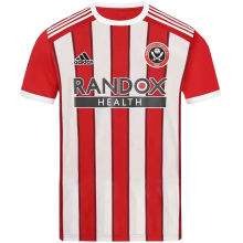 2021/22 Sheffield United Home Fans Soccer Jersey