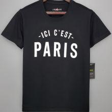 2021/22 ICI C' EST PARIS Black T-Shirt Jersey