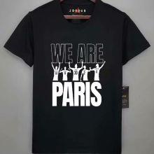 2021/22 WE ARE PARIS Black T-Shirt Jersey