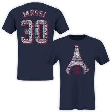2021/22 MESSI #30 Royal Blue T-Shirt Jersey