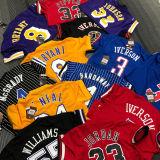 IVERSON # 3 76ers Black Mitchell Ness Retro Jerseys
