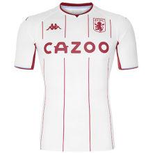 2021/22 Aston Villa Away White Fans Soccer Jersey