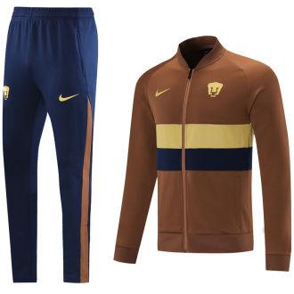 2021/22 Pumas UNAM Brown Jacket Suit