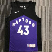 2021 Toronto Raptors SIAKAM # 43 EARNED NBA Jerseys Hot Pressed