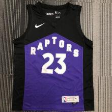 2021 Toronto Raptors VANVLEET # 23 EARNED NBA Jerseys Hot Pressed