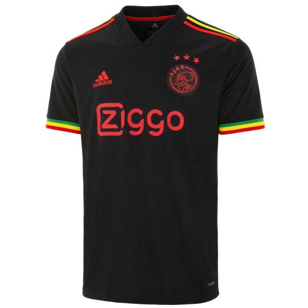 2021/22 Ajax 1:1 Quality Third Black Fans Soccer Jersey