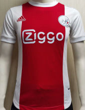 2021/22 Ajax Home Red White Palyer Soccer Jersey