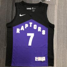 2021 Toronto Raptors LOWRY # 7  EARNED NBA Jerseys Hot Pressed