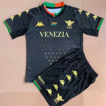 2021/22 Venezia FC Home Black Kids Soccer Jersey