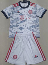 2021/22 BFC Third White Kids Soccer Jersey