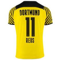 REUS #11 BVB Home 1:1 Quality Yellow Fans Jersey 2021/22