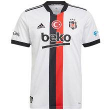 2021/22 Beşiktaş White Fans Soccer Jersey