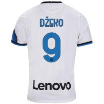 Džeko #9 In Milan 1:1 Quality Away Fans Jersey 2021/22