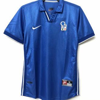 1998 Italy Home Blue Retro Soccer Jersey