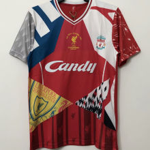 2005 The Final ISTANBUL Champions Retro Soccer Jersey