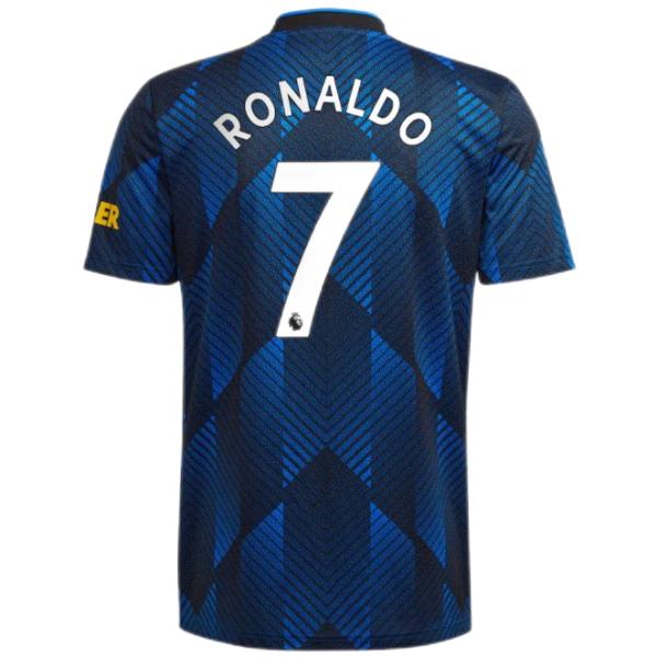 RONALDO #7 M Utd 1:1 Quality Third Fans Jersey 2021/22(League Font)