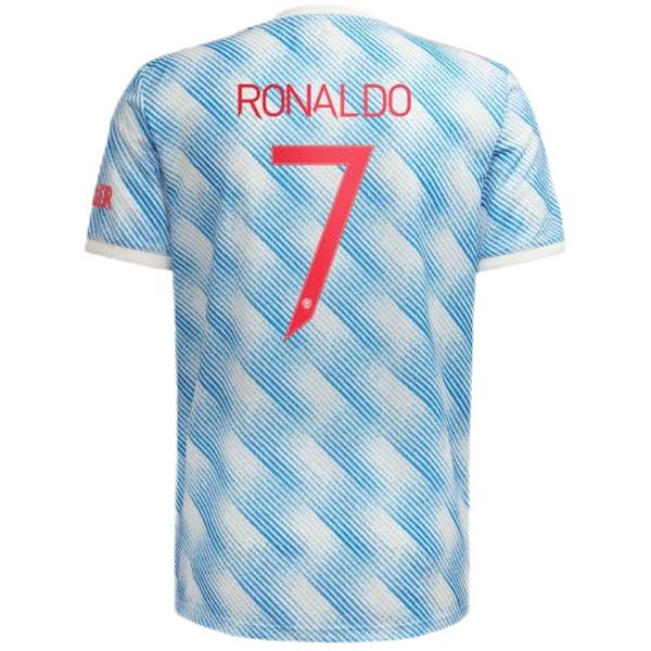 RONALDO #7 M Utd 1:1 Away Fans Jersey 2021/22(UCL Font 欧冠字体)