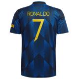 RONALDO #7 M Utd 1:1 Quality Third Fans Jersey 2021/22 UCL Font 欧冠字体