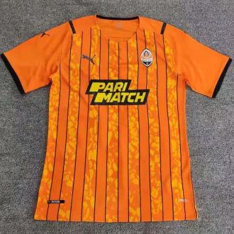 2021/22 Shakhtar Donetsk Home Orange Fans Soccer Jersey