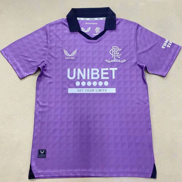2021/22 Rangers Third Fans Soccer Jersey