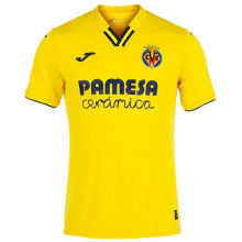 2021/22 Villarreal Home Yellow Fans Soccer Jersey