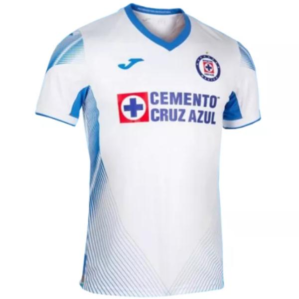 2021/22 Cruz Azul Away White Fans Soccer Jersey