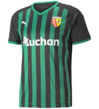 2021/22 Lens Away Green Black Yellow Fans Soccer Jersey