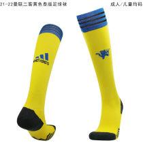 2021/22 Man Utd Third Yellow Sock