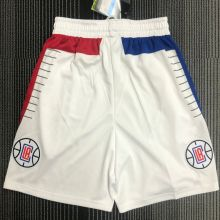 Clippers White NBA Pants
